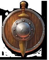 деревянный щит