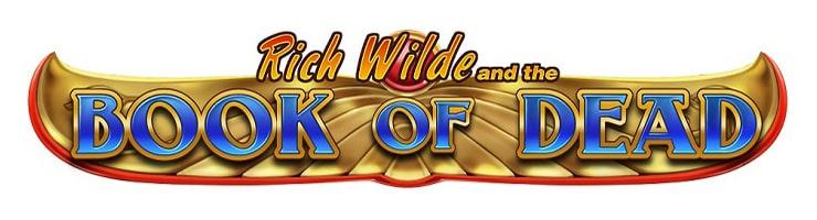 book of dead онлайн слот лого