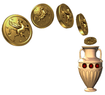 бонусные монеты в игровом автомате
