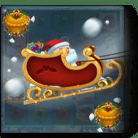 дед мороз на санях символ автомата fat santa