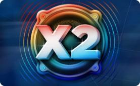 множитель x2